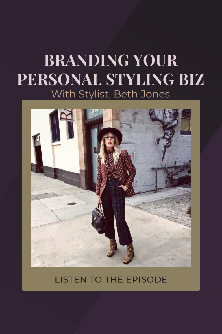 How To Nail Your Visual Brand Presence, with Beth Jones of B.Jones Style
