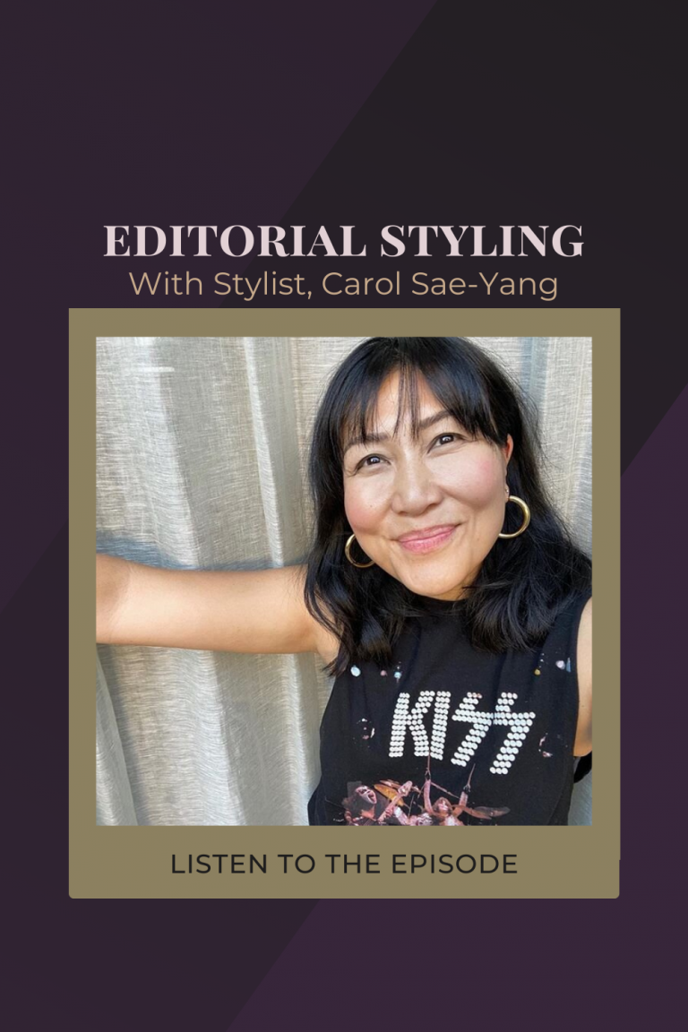 Editorial Styling & How To Start Pulling Stock, with Sydney Style Director, Carol Sae-Yang