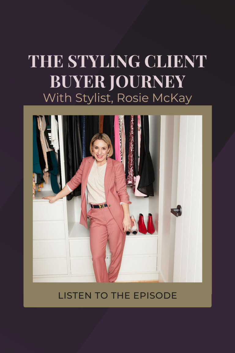 The Styling Client Journey with My Virtual Stylist Founder, Rosie McKay.