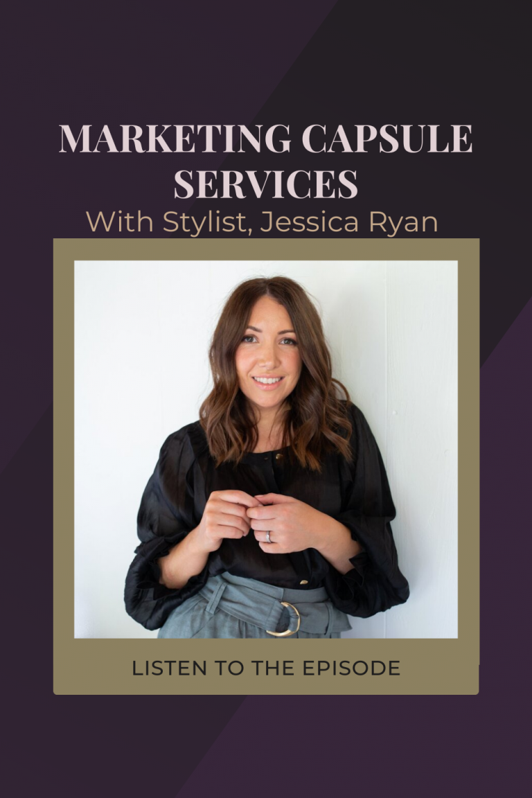Personal Stylist Packages and the Rise of The Capsule with Jessica Ryan