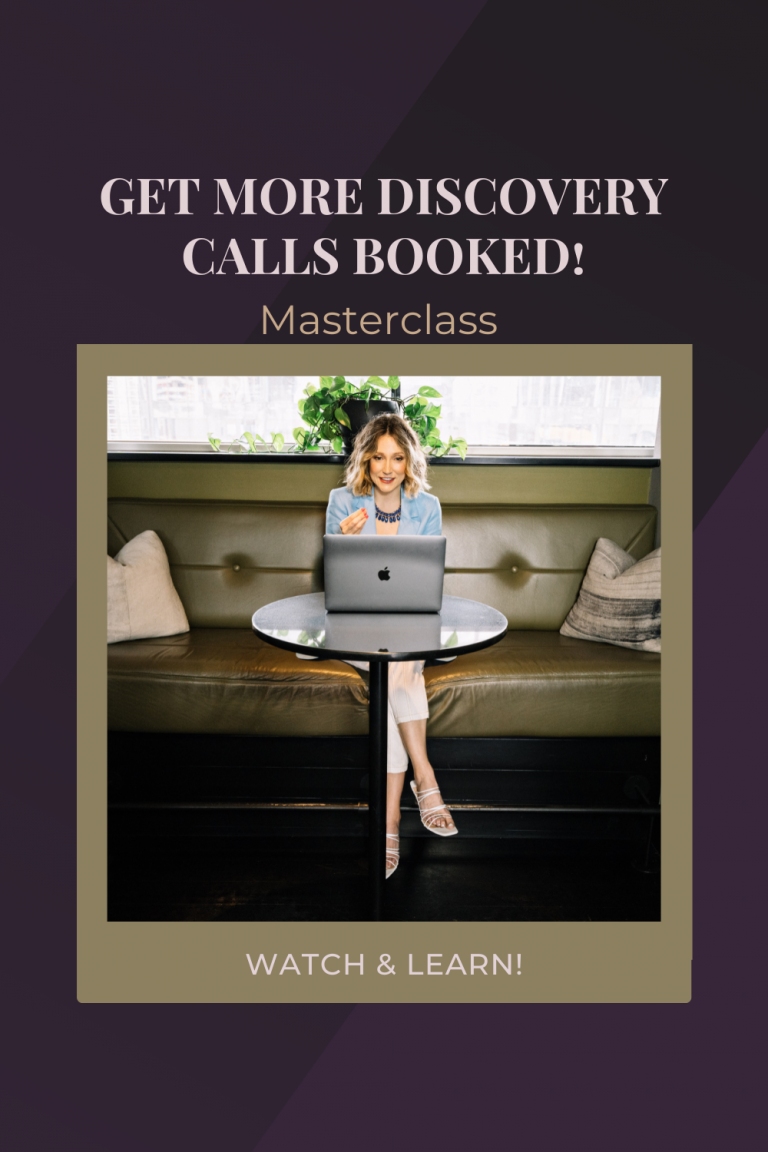 How To Get More Discovery Calls Booked & Make Them Successful